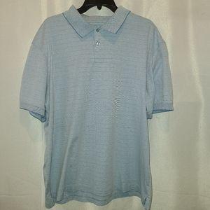 HAGGAR Short Sleeves Collared Mens Shirt size XL